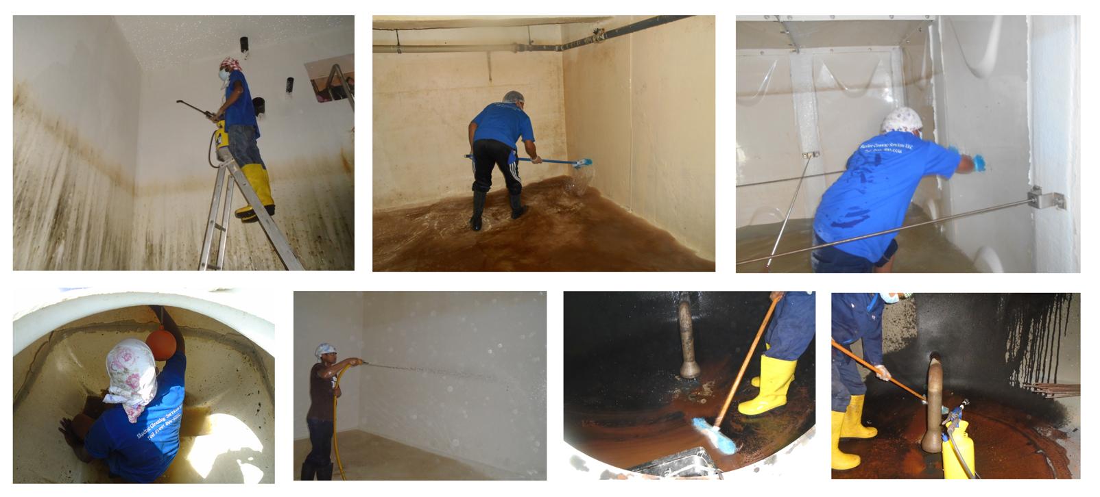 Dubai Municipality Approved Water Tank Cleaning Company in Dubai